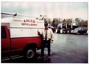 Aalco's 1st service truck