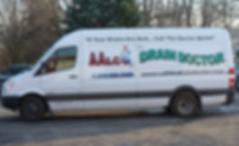 Our plumbing service truck in Syracuse, NY