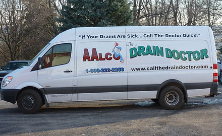 Septic, Plumbing and Drain Sevice Van