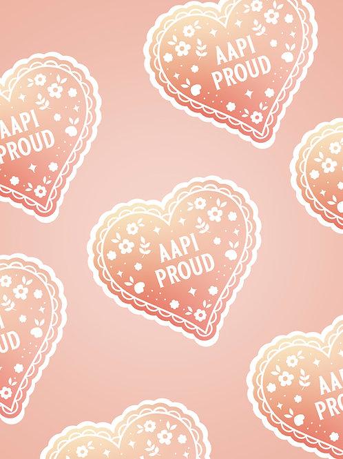 AAPI Proud Sticker