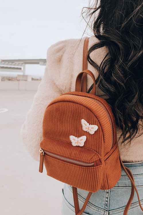 Floral Butterfly Pin