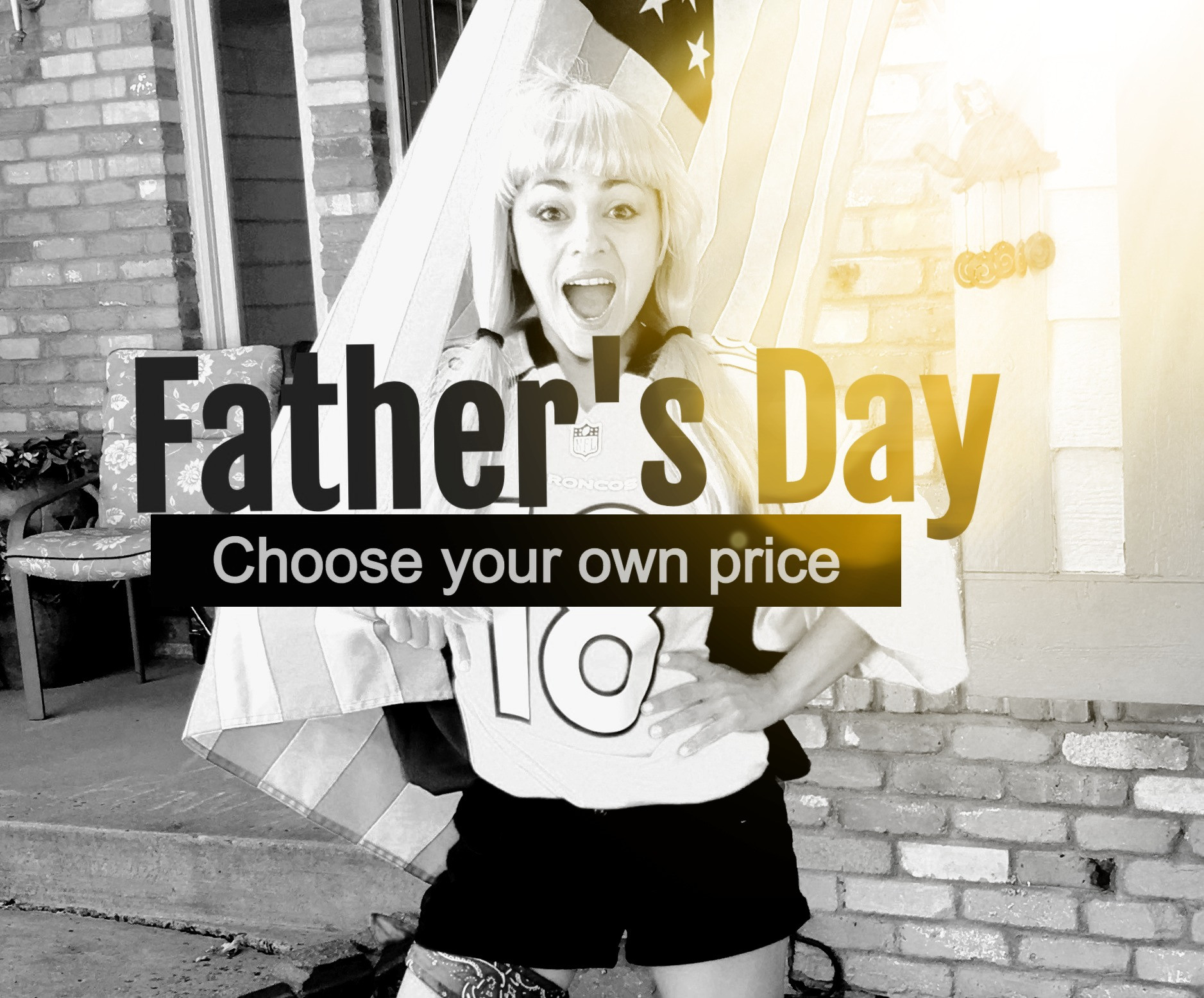 Father's Day Choose your own price $75-