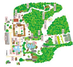 太宰府境内マップ