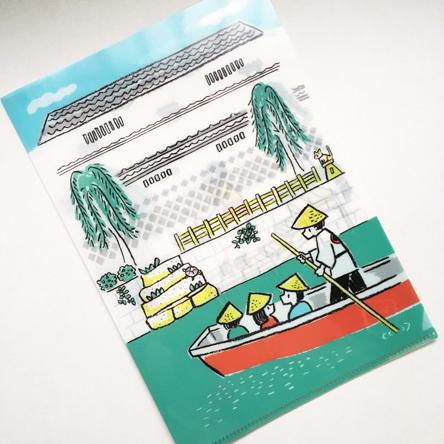 柳川クリアファイル