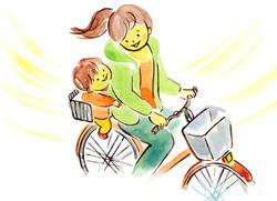絵本「ママと自転車」