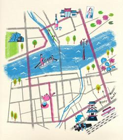人吉ウォーキングマップ