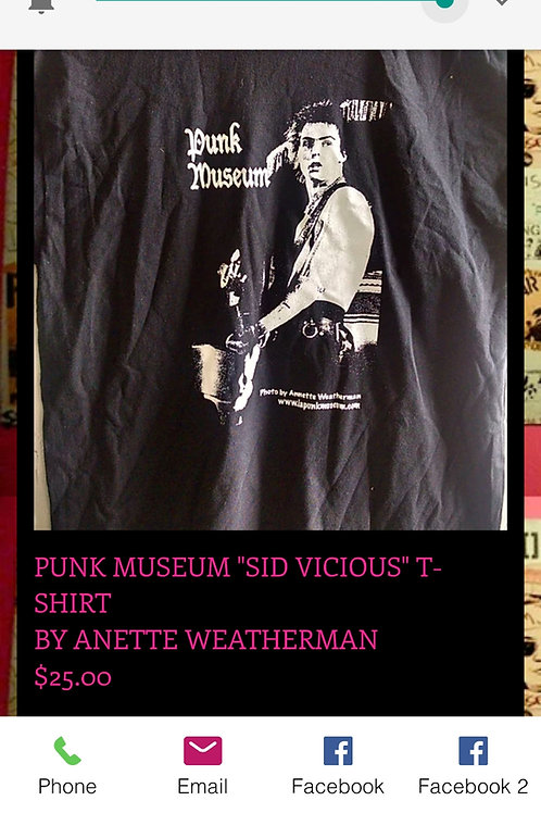 Sid Vicious  Punk museum T-Shirt