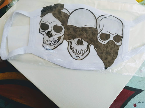 3 bandana skulls