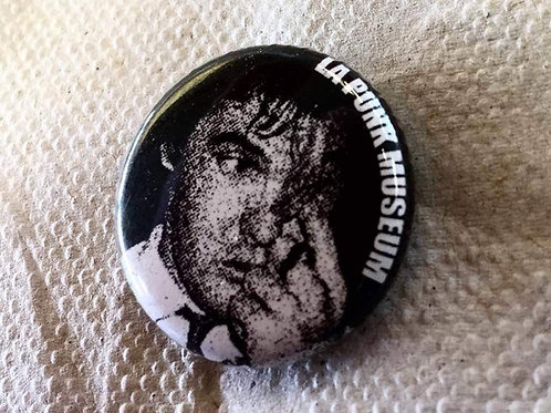 Darby Crash Punk Museum button