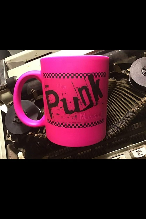 Pink Punk Museum commerative mug