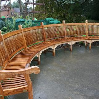 Bespoke Teak 6000 Special Curved Bench.j