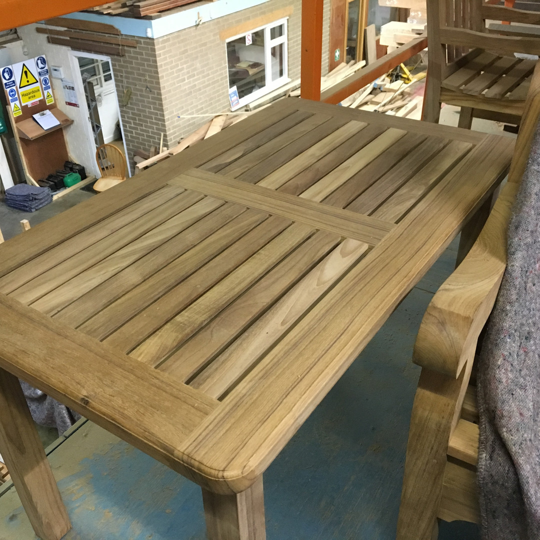 Burdon 1650 x 750 Teak Table.JPG