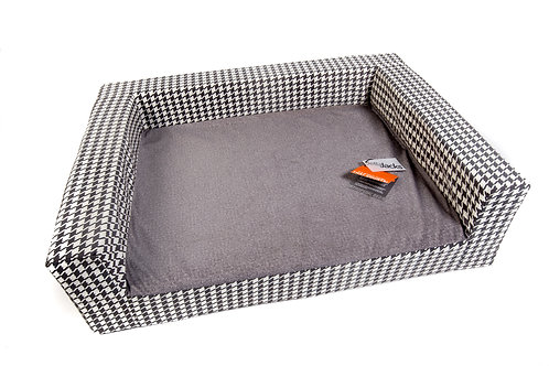Jackson Bed - HOUNDS TOOTH