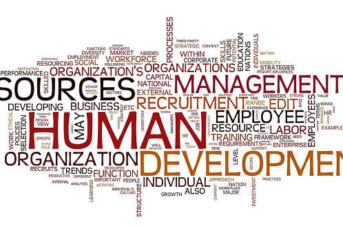 Developement of Organizational Resources
