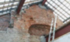 brick arch chimney mezzanine cnstruction