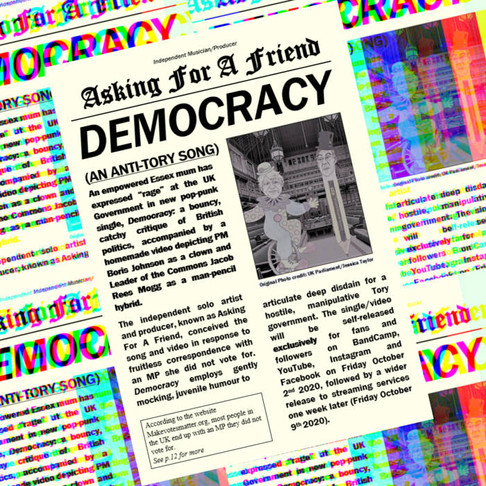 Single review- Asking For A Friend 'Democracy'