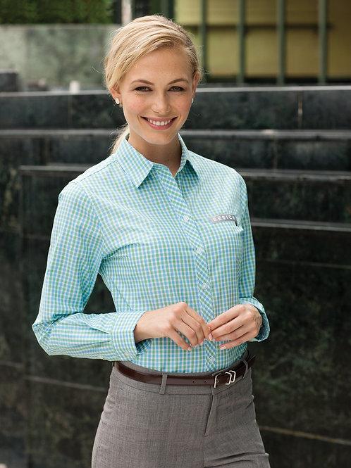 Modern Gingham Shirt - Women