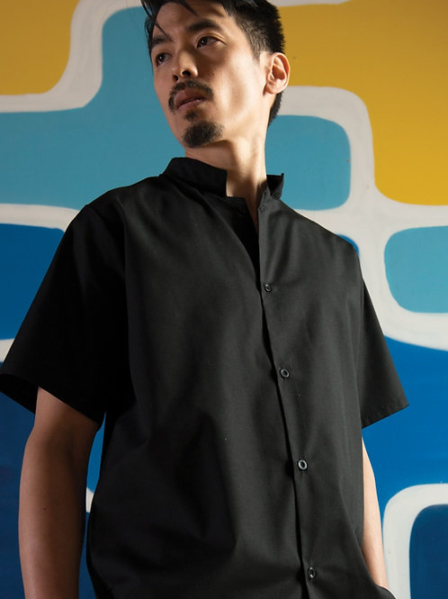 Mandarin Utility Shirt