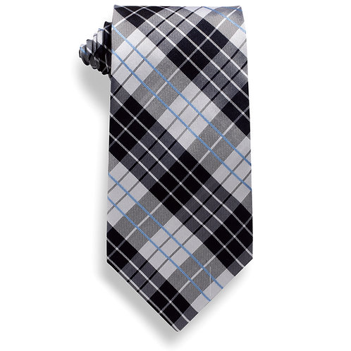 Plaid Signature Necktie