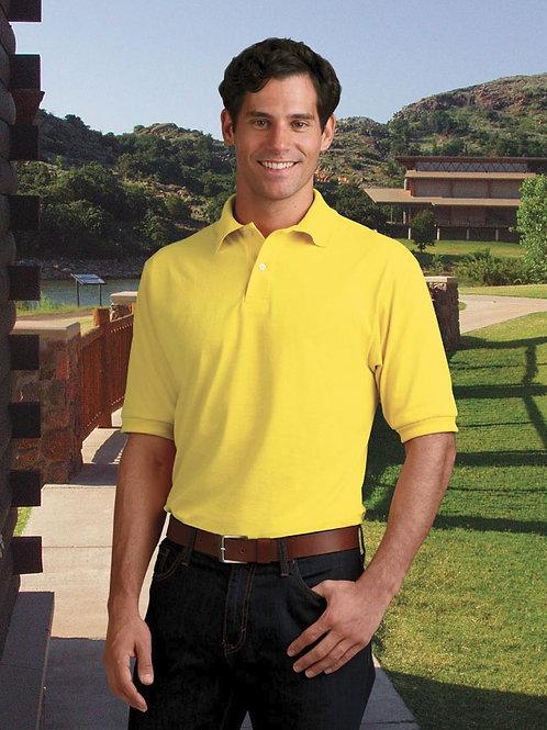 Hanes Jersey Golf Shirt