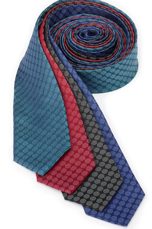 Circles Silk Necktie