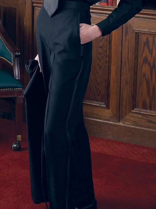Tuxedo Trouser Flat Front-Women's