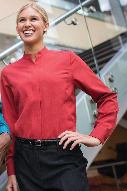 Batiste Stand Up Collar shirt-Women