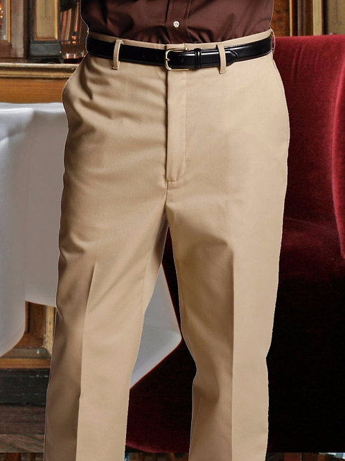 Flat Front Twill Pant