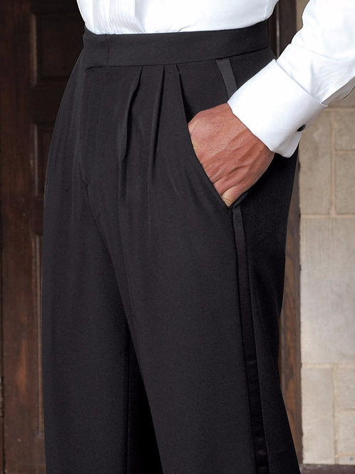 Tuxedo Trouser Pleated