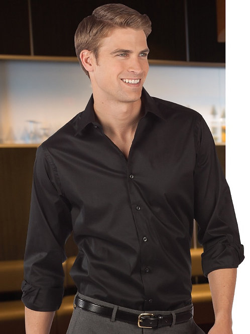 Spread Collar Dress Shirt