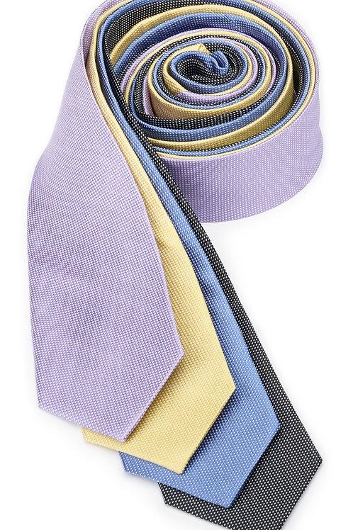 Mini Mesh Silk Necktie
