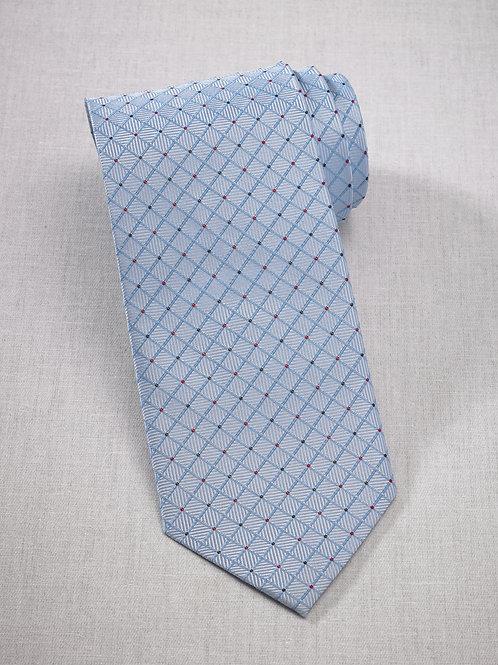 Trellis Silk Necktie