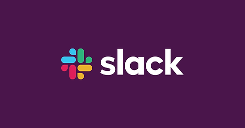 "image of ""slack"" logo on purple background"