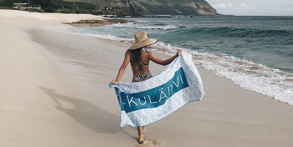 Kulāiwi Towel
