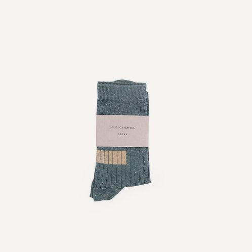 Socks • forest green