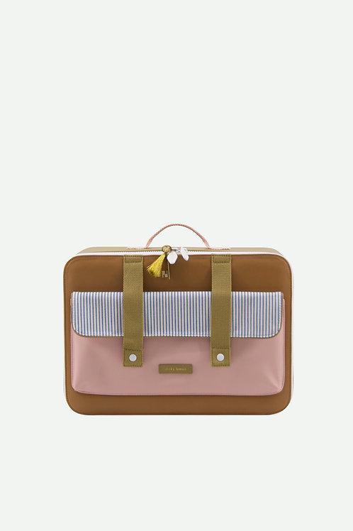 suitcase envelope deluxe   sugar brown