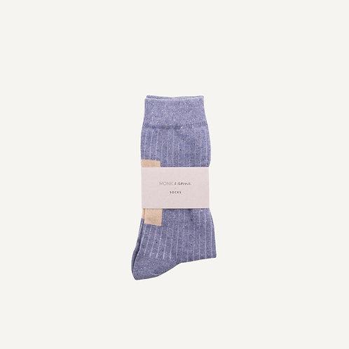 Socks • greyisch blue
