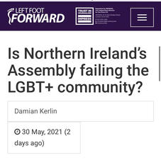 Is Northern Ireland's Assembly failing the LGBT+ community?   Left Foot Forward