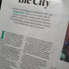 Pride in the City   The Belfast Telegraph