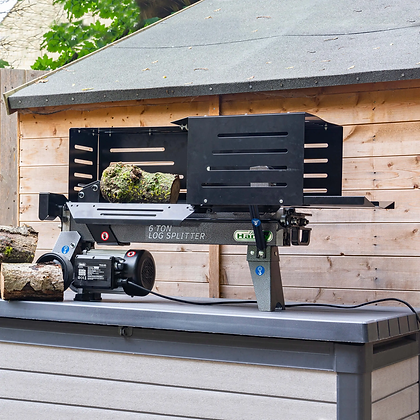 Handy 6 Ton Electric Log Splitter with Guard