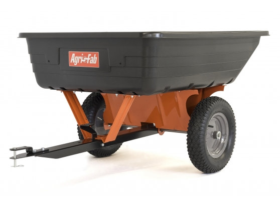 Agri-Fab 10 ft³ Towed Poly Body Cart Trailer