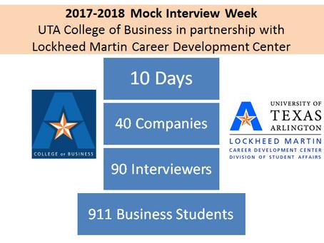 Mock Interview Week Highlights