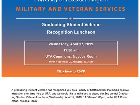 Veterans Banquet Recognition Luncheon
