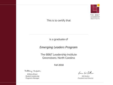 Leadership Institute - Certification