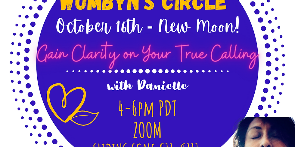 Sprout Wombyn's Creative New Moon Circle