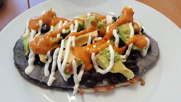 Chorizo Stuffed Huarache.jpg