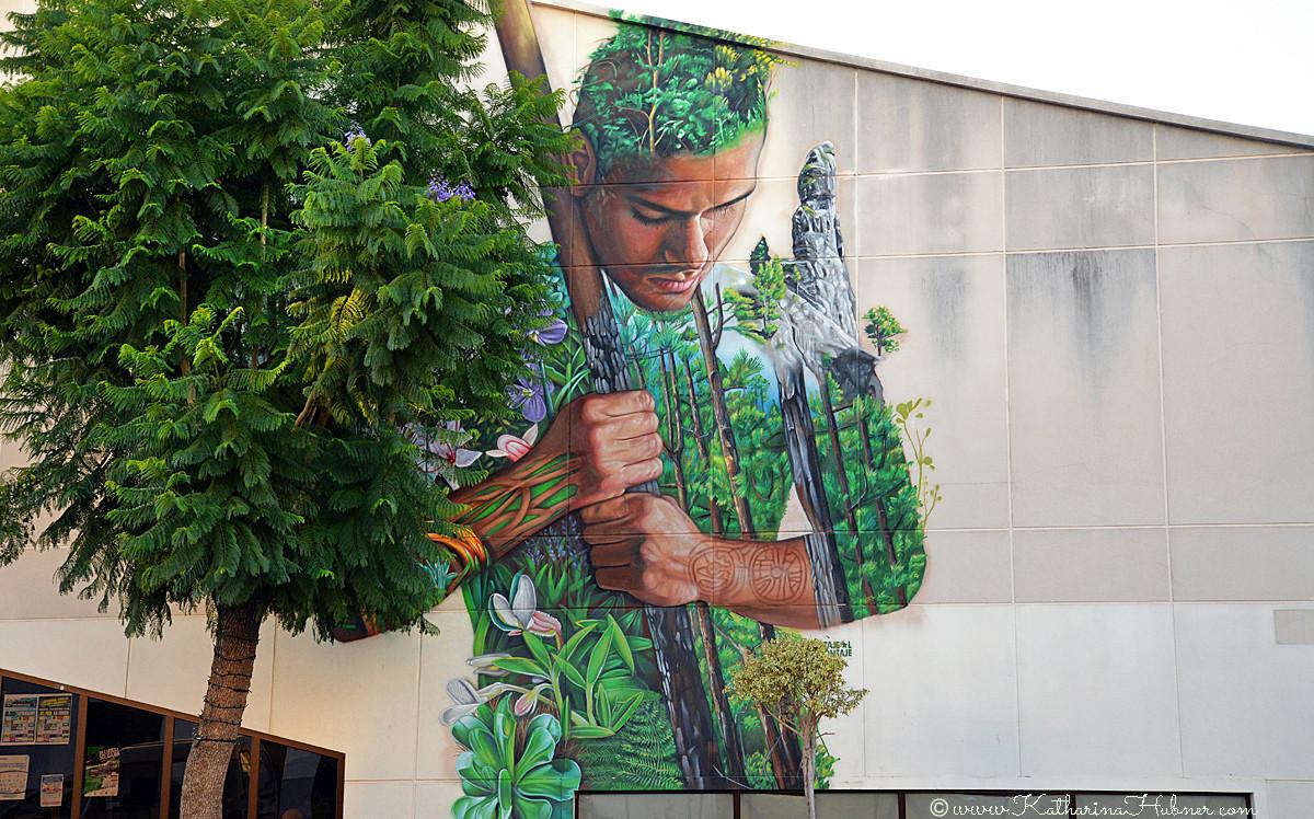 La Palma, Wandmalerei, Guanche, Tanausu