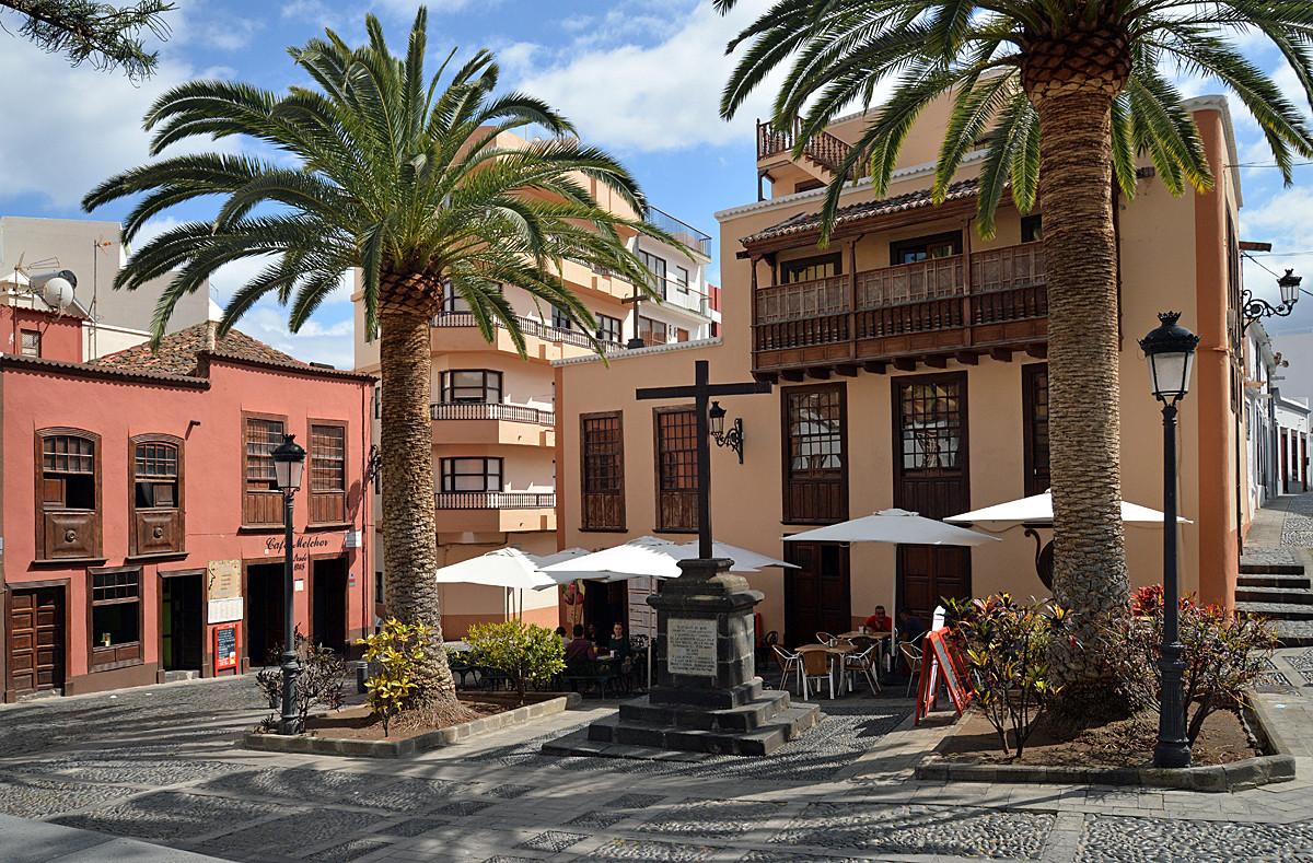 La Palma, Plaza, Santa Cruz