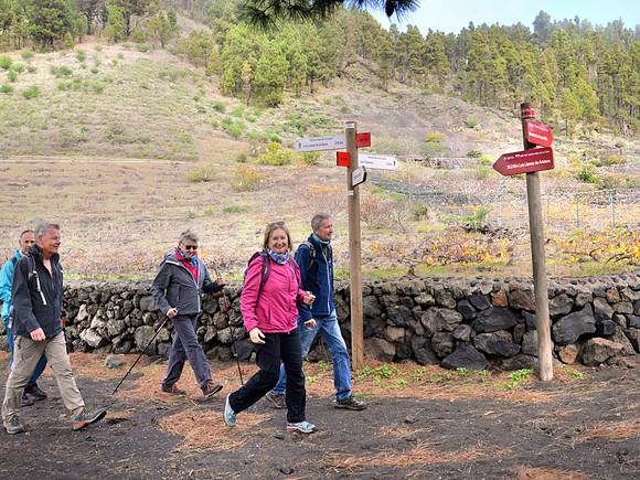 La Palma, Wanderung mit Christel Oswald