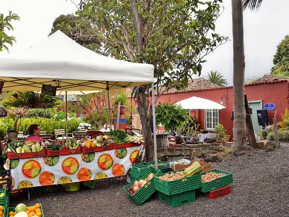 La Palma, Finca la Principal, Gemüsemarkt